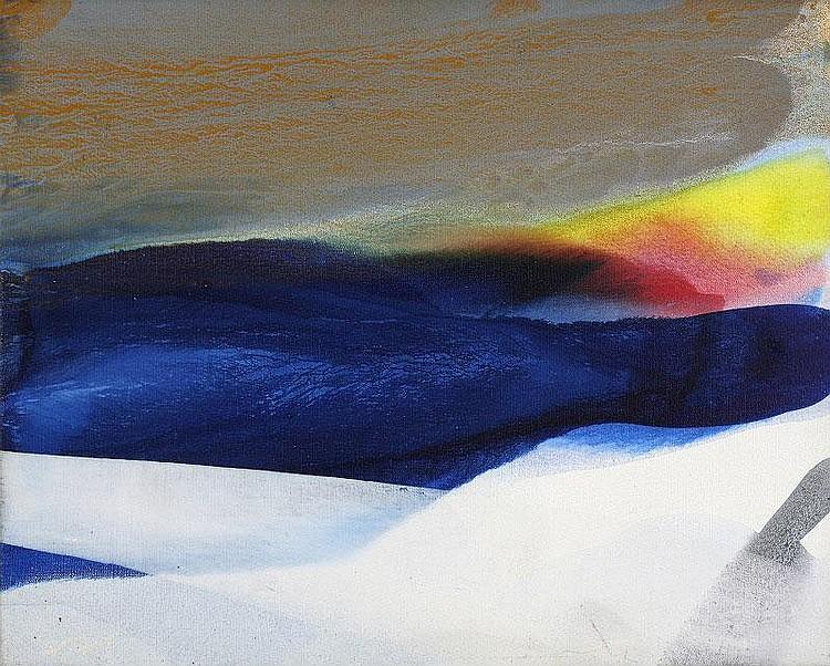 Paul Jenkins, Phenomena Ahab Shelter: acrylic on