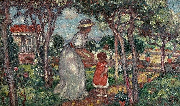 Georges d'Espagnat, Petit Jardin Sicilien: oil on