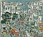 Andre Cottavoz, Paysage: oil on panel, signed, André Cottavoz, Click for value