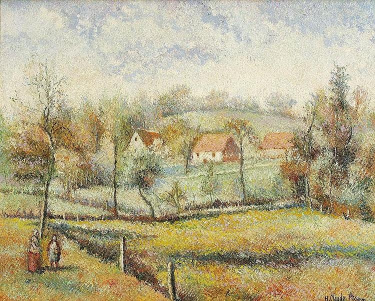 Huges Claude Pissarro, Le hameau de Roche-Tailles: