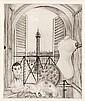 Tsuguharu Foujita, Place Vendome, from 'Rivere enchantee' (Buisson II.51.176) (sold with 13A; set of 2)