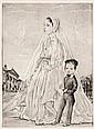 Tsuguharu Foujita, St. Philippe du Roule, from 'Rivere enchantee' (Buisson II.51.176) (sold with 13B; set of 2)