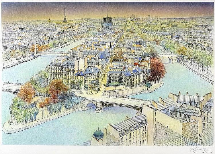 Rolf Rafflewski, La Seine