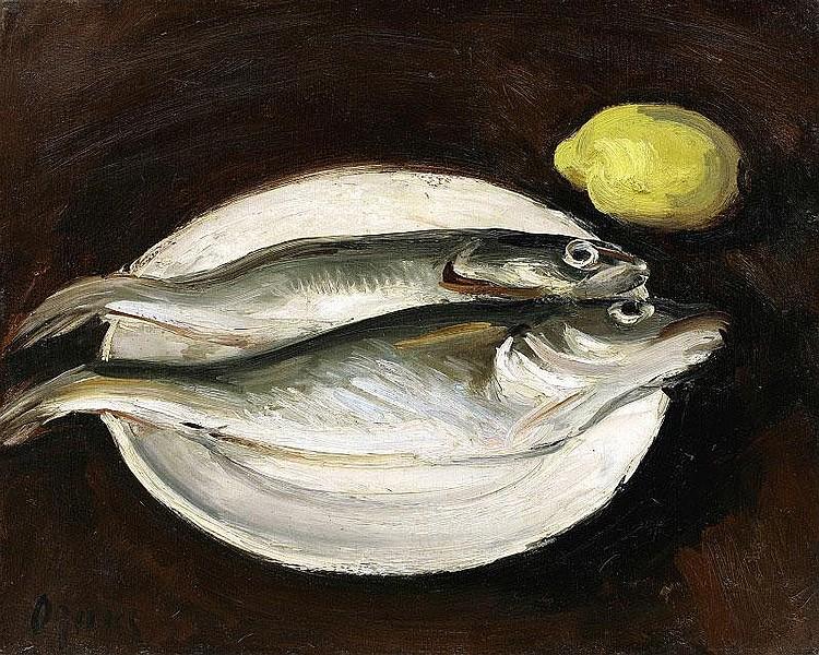 Takanori Oguiss, Deux merlans et un citron