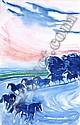 Andre Brasilier, Les chevaux du soir, André Brasilier, Click for value
