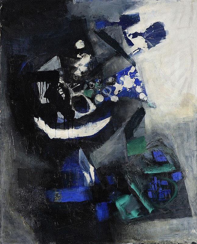 Antoni Clave, Sans Titre oil on canvas, signed