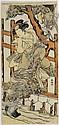 Shunko Katsukawa, Segawa Kikunojo, the Kabuki