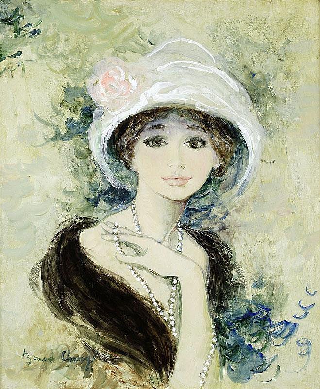 Bernard Charoy, Jeune fille