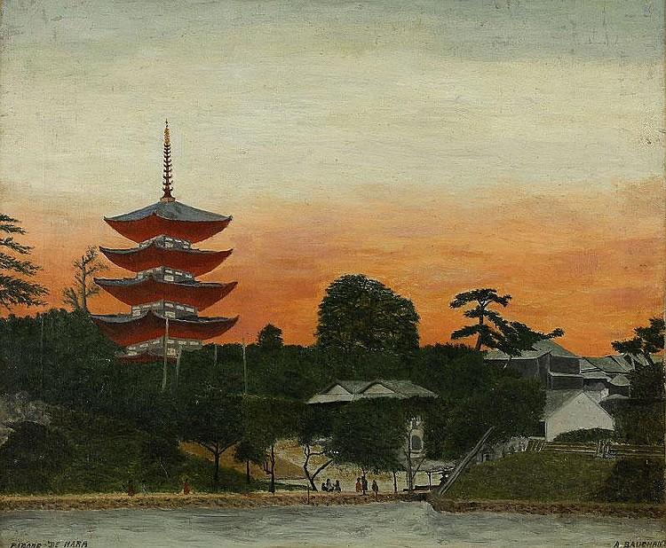 Andre Bauchant, Pagode de Nara