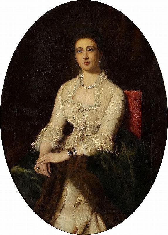 Konstantin Egorovich Makovsky, Portrait of an Elegant Lady