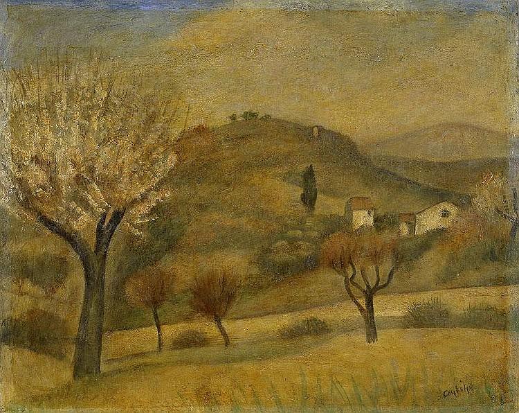 Otakar(Othon) Coubine, Paysage de Provence