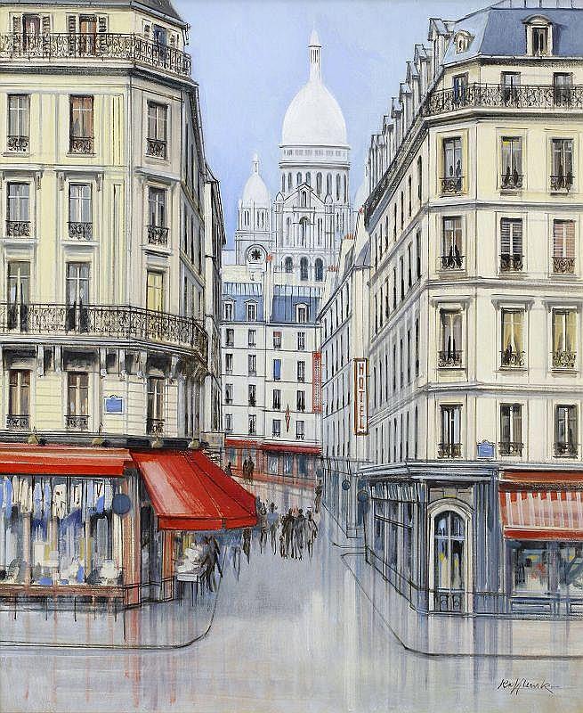 Rolf Rafflewski, Montmartre-Boulevard Rochehouard