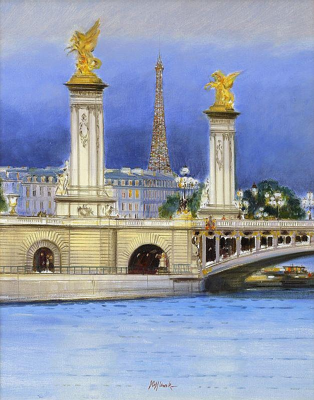 Rolf Rafflewski, Paris - Le pont Alexandre III