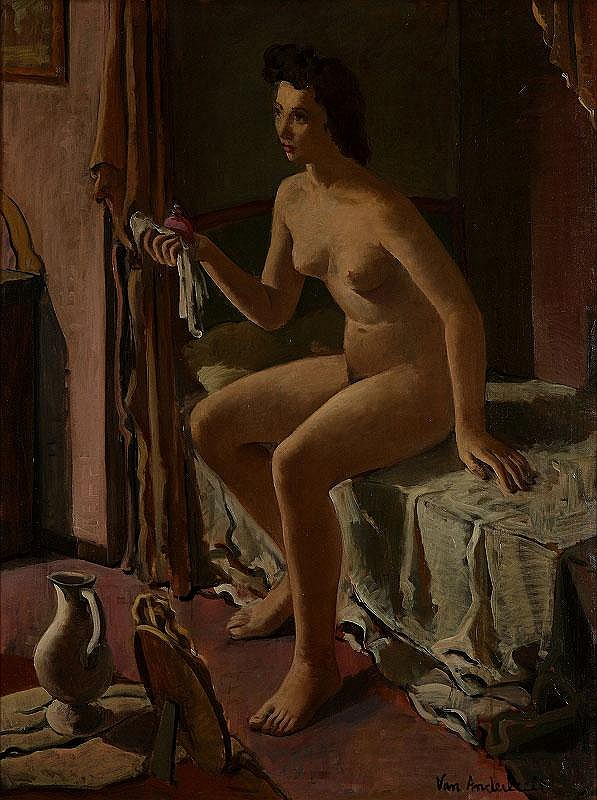 Engelbert van Anderlecht, Jeune femme