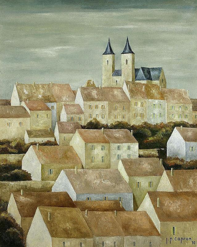 Jean-Pierre Capron, Village aux deux clochers