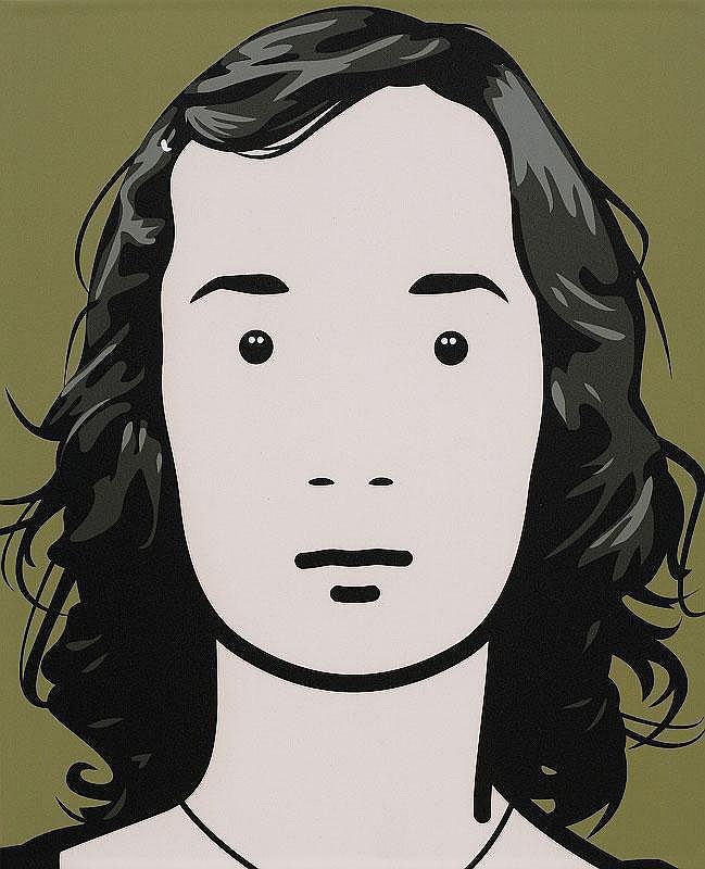 Julian Opie, Fiona, artist.1?