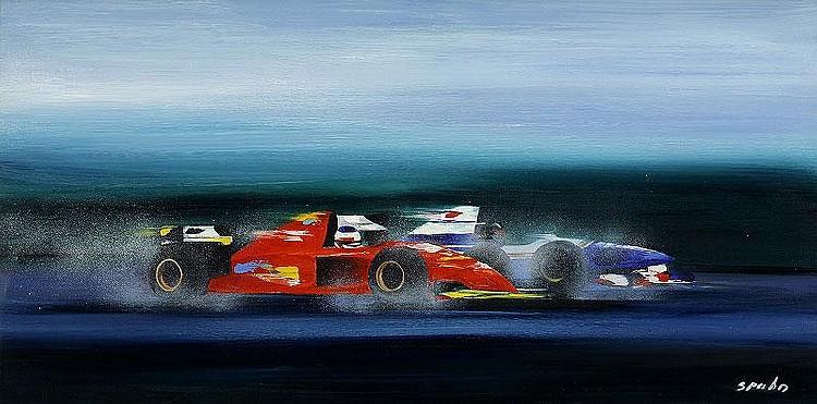 Victor Spahn, Race