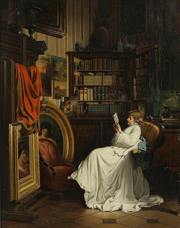 Benjamin-Eugene Fichel, In the Library