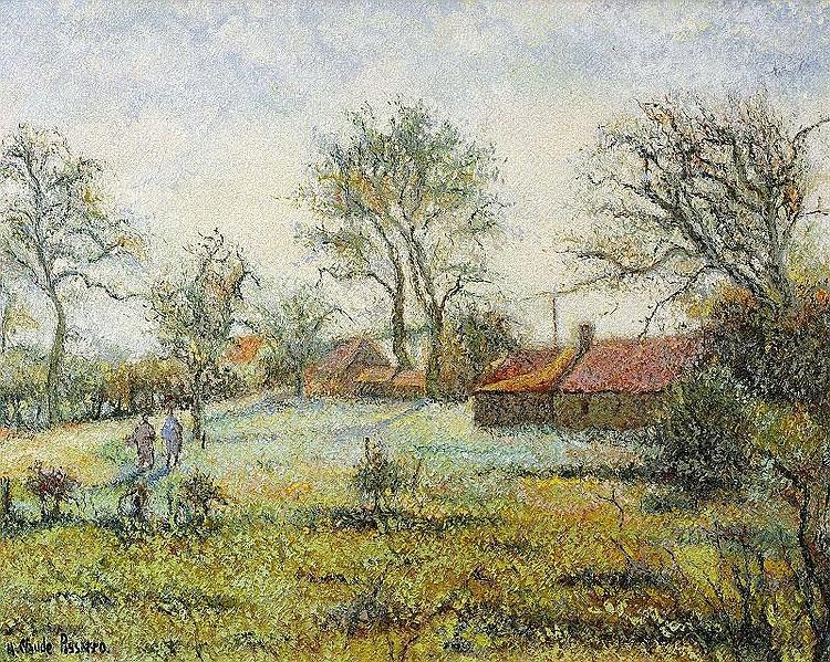 Huges Claude Pissarro, Le Hameau du Gast a Clecy