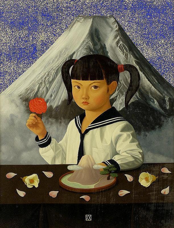 Mitsuru Watanabe, Naoko with sunflower