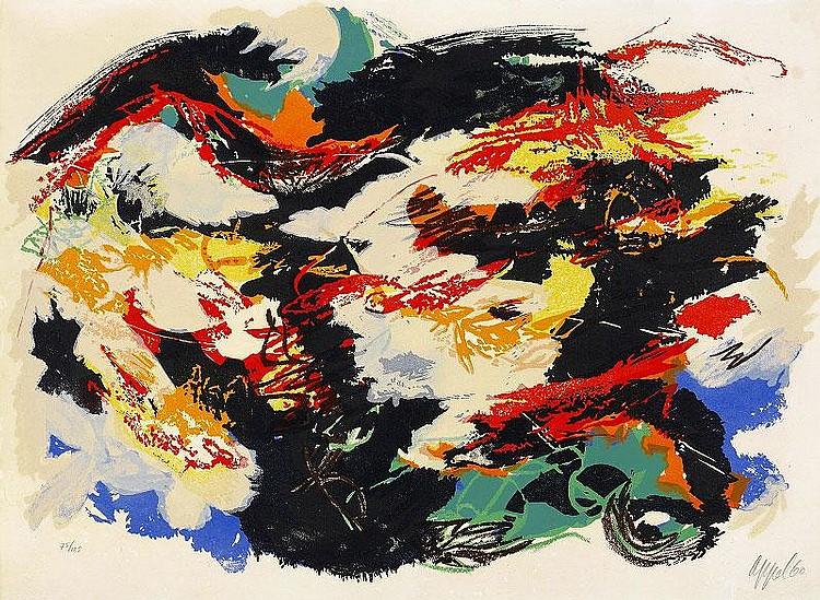 Karel Appel, Dans la tempete