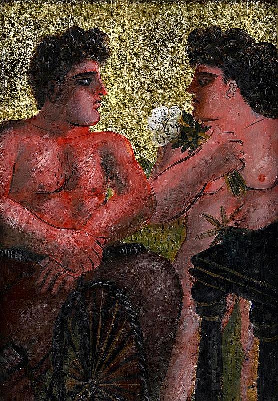 Alecos Fassianos, Proposition au Mariage