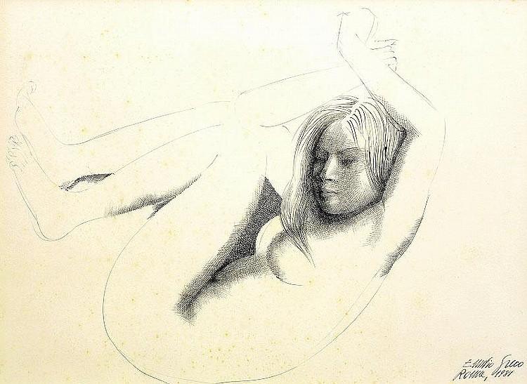 Emilio Greco, Nude