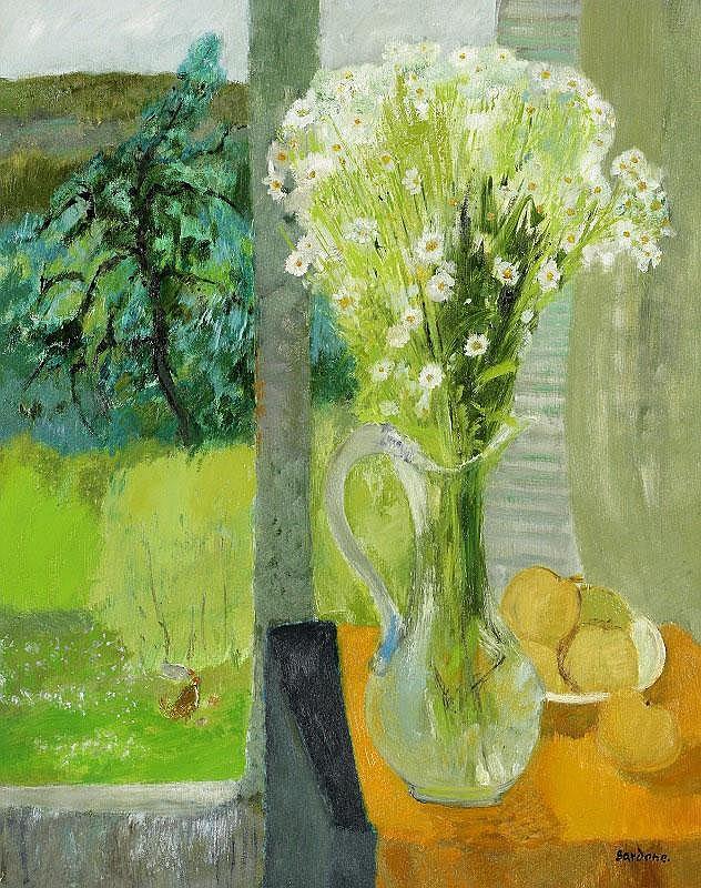 Guy Bardone, La Carafe de Cristal oil on canvas,
