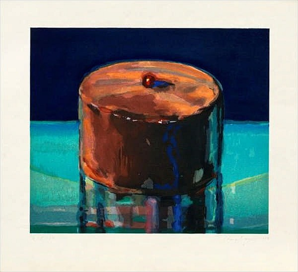Wayne Thiebaud, Dark Cake