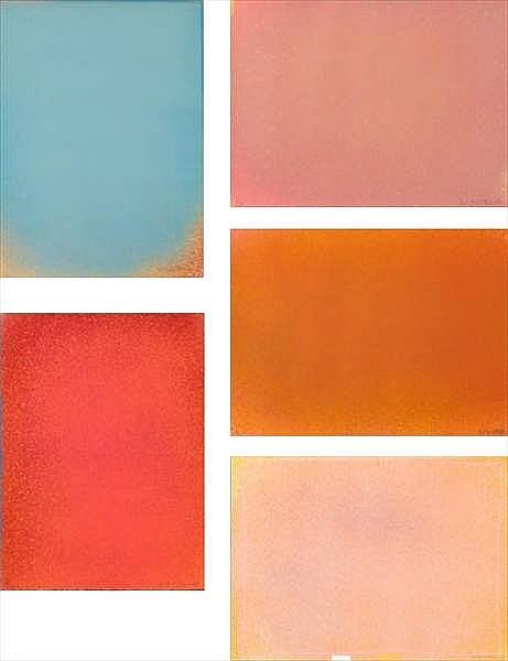 Jules Olitski, Graphic Suite ( )