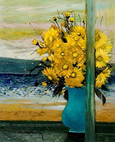 Michel Henry, Fleurs jaunes sur la terrasse