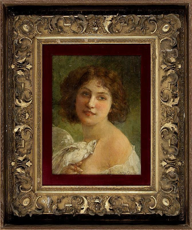 Gaston Gerard, A girl