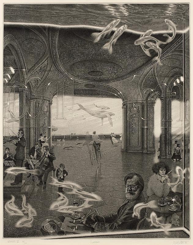 Peter Milton, Interiors VI : Soundings