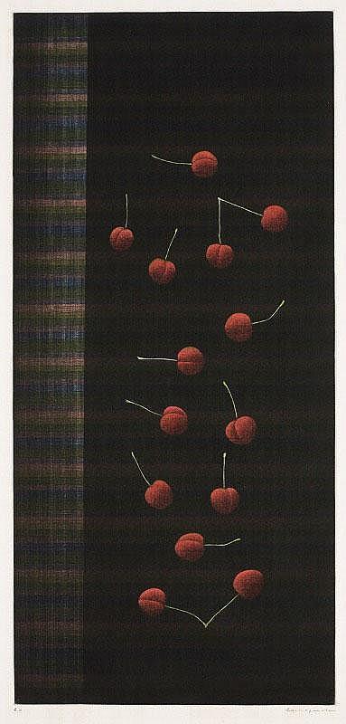 Yozo Hamaguchi, Fourteen Cherries (Chuo-Koron Bijutsu Shuppan 111)