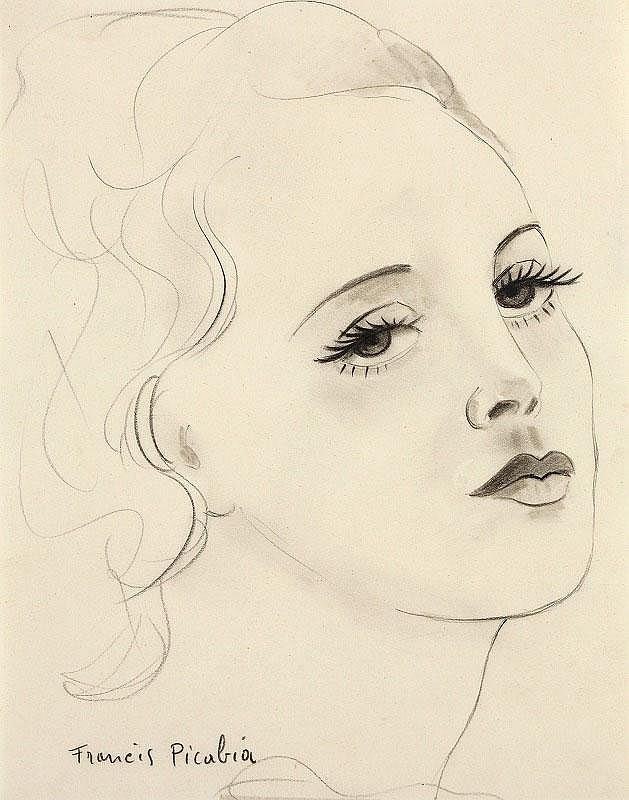 Francis Picabia, Profil de Femme