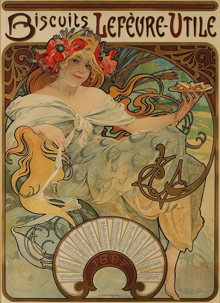 Amato Alphonse Maria Mucha Artwork for Sale at Online Auction | Alphonse  BN42