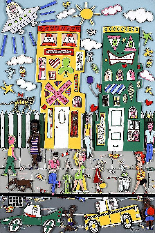 James Rizzi, Movin' In
