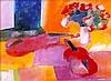Paul Guiramand, Fleurs et deux violons, Paul Guiramand, ¥0
