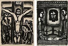Georges Rouault, Christ en croix (de face)/ Frontispice (Chapon & Rouault 309/ 359)
