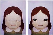Yoshitomo Nara, Cosmic Girl - Eyes Open/ Closed