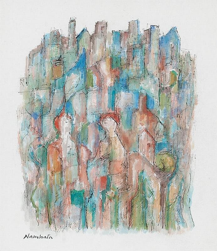 Tatsuoki Nambata, Work (sold with 53A; set of 2)