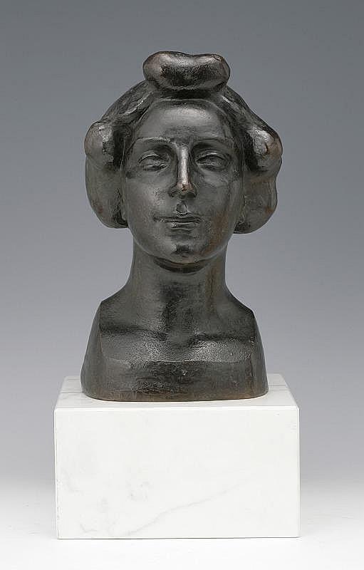 Aristide Maillol Tete de Femme (Le Printemps)