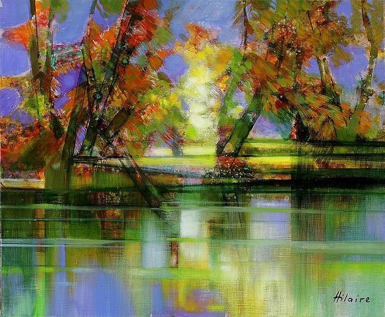 Camille Hilaire Riviere d'automne