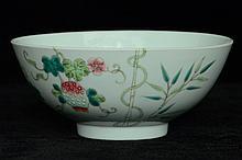 $1 Chinese Porcelain Bowl Guangxu Mark & Period