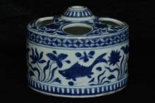 $1 Chinese Ming Incense Burner Wanli Mark &Period