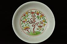 $1 Chinese Porcelain Plate