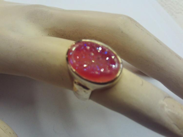 Drusy Ring Indian