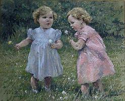 Peter Rasmussen (1897-1935)- 'Dandelion Clocks',