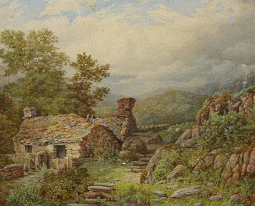 Harry Baker (fl.1849-1875); watercolour entitled