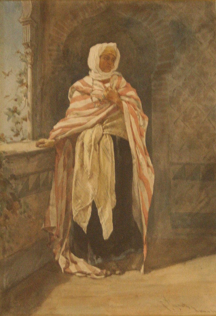 Ramon Tusquets Maignon (1837-1904) - Arabic female